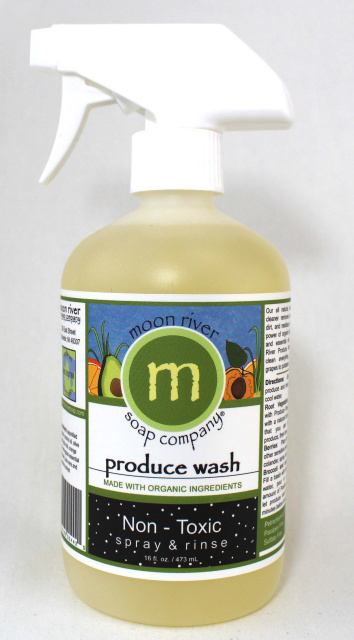 16 oz. Produce Wash- this item will ship or front porch pick up