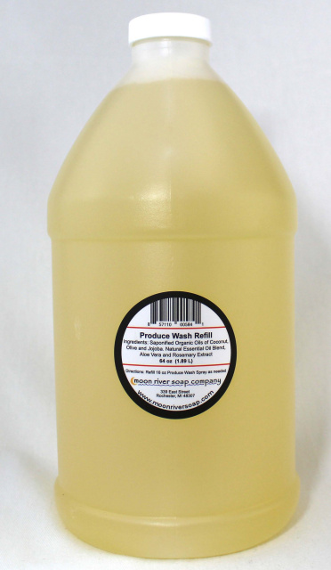 64 oz. Produce Wash Refill -This product  Will Not Ship, Front Porch Carry Out Only