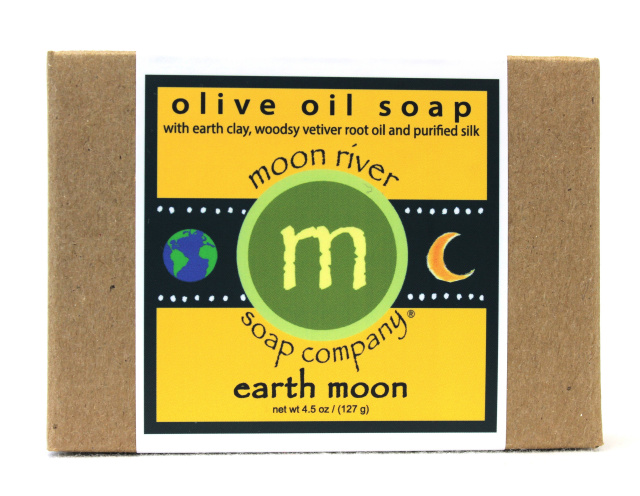 Earth Moon Silk Vetiver Soap May sale