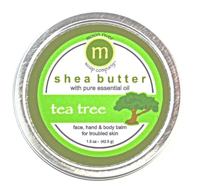 Tea Tree Shea Butter Balm 1.5 oz or 3 oz.